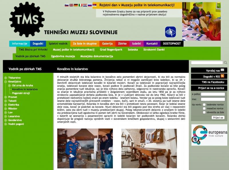tehniški muzej slovenije